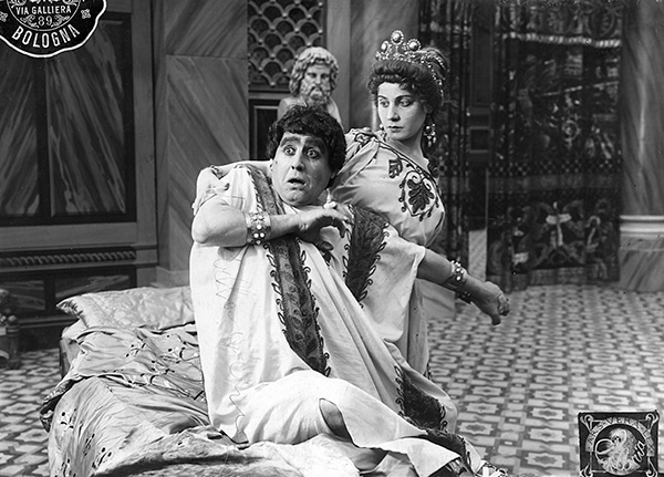 Nerone e Agrippina, 1914