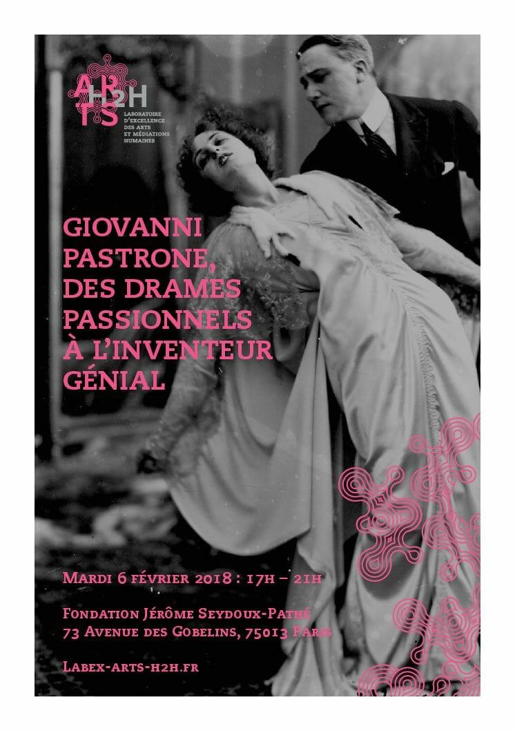 Parigi celebra il melodramma muto italiano (Fondation Jérôme Seydoux - Pathé, 31 gennaio-17 febbraio 2018)