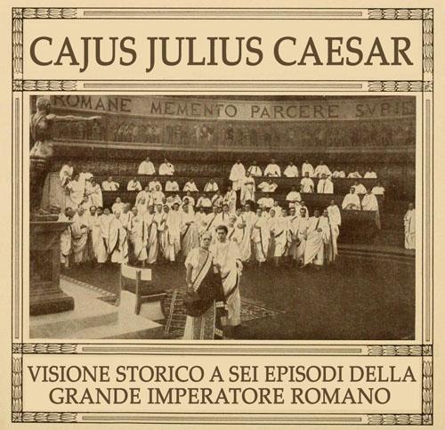Caius Julius Caesardi Enrico Guazzoni (1914) alla British School of Rome (7 maggio 2019, ore 17.30 – 20.00)